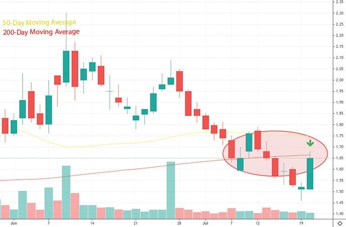 penny stocks to watch dogecoin Genius Brands GNUS stock chart
