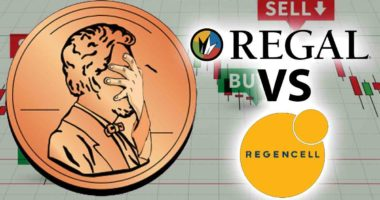 Regal Stock vs Regencell stock