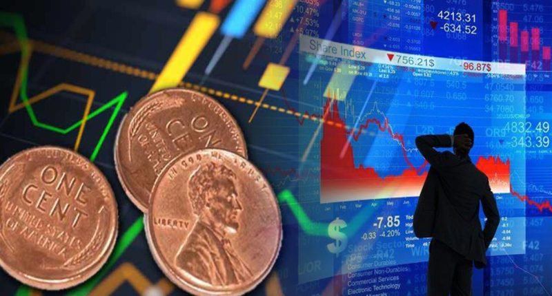 finding penny stocks to buy down market
