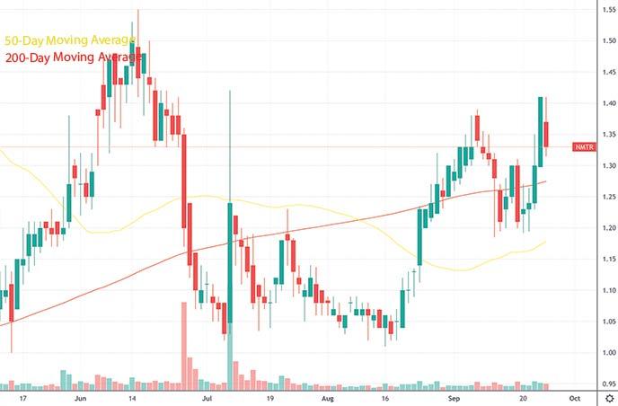 top penny stocks to watch this week 9 Meters Biopharma Inc. NMTR stock chart